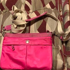 OLD USED COACH CROSSBODY BAG